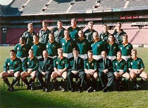Rugby - 1995 Rugby World Cup Springbok Team Photo for sale ...
