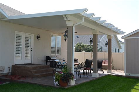 stucco trimmed patio cover gallery warburton s inc
