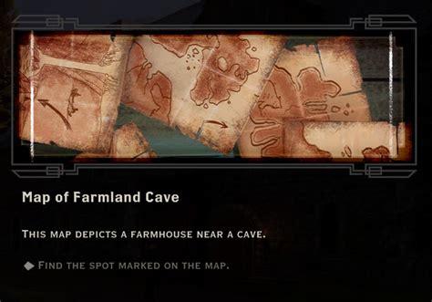 map  farmland cave quest dragon age inquisition