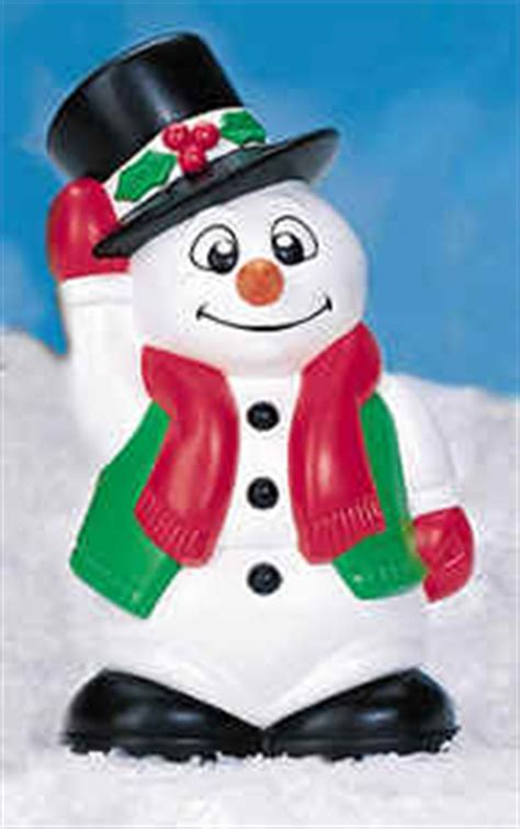 mini snowman lawn  garden holiday decorations