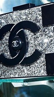 Chanel brick clutch. Black. Rhinestone.   Candy ...