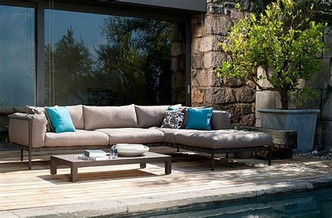 exclusive outdoor sofa armchair collection contemporary