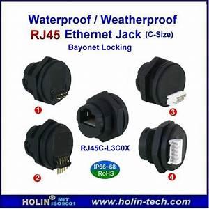 Waterproof Rj45 Connector Ethernet Jack