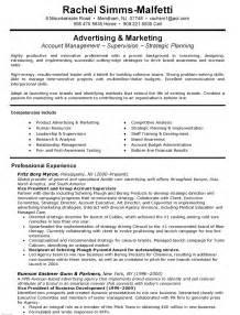 vice president of sales resume exle vice president resume sle exle executive resumes