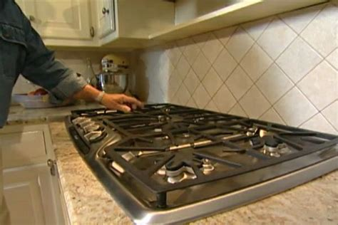 How To Remove And Install A Gas Cooktop • Ron Hazelton