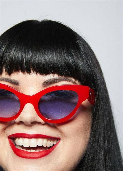 Betty Sunglasses – Lipstick Red – Georgia Perry #eyewear # ...