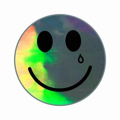 Sticker Sad Happy Holographic Kacey Musgraves Cart
