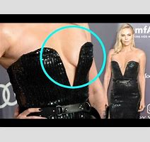 Charlize Theron Hot Sideb Bs Exposed In Plunging Gown At Amfar Gala Youtube