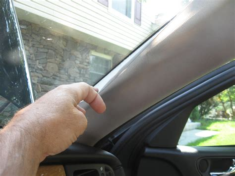 2004 X-type Window Pillar Cloth Trim