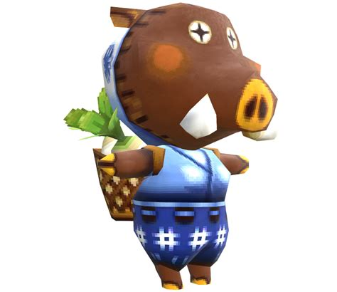 ds animal crossing  leaf sow joan  models