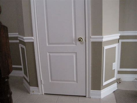 Decorative Wainscoting by Painting With Decorative Wall Trim Wainscotting Wall