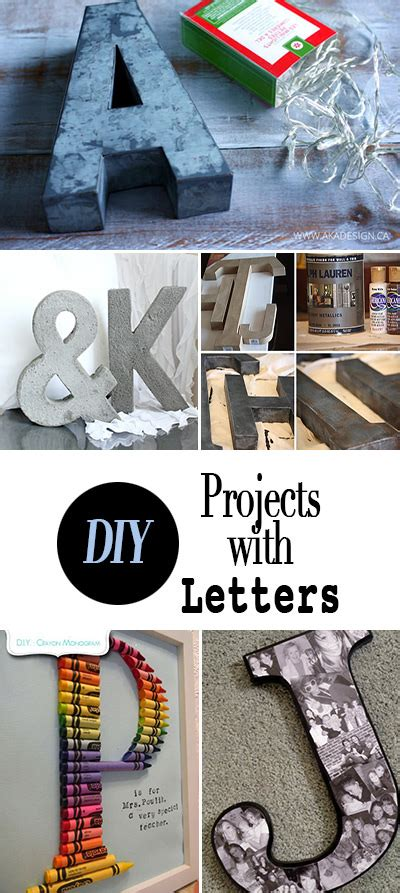letters  decorating ideas diy projects  budget decorator