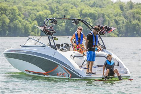 Velocity Boat Tower by 2015 Yamaha 240 Series Ultra With Sure Footed