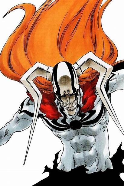 Ichigo Bleach Anime Kurosaki Hollow Form Manga