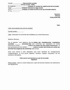 Lettre De Déclaration De Sinistre Causé Par Un Tiers : exemple de lettre sinistre assurance ~ Gottalentnigeria.com Avis de Voitures