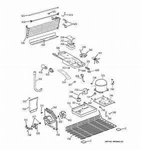 Unit Parts Diagram  U0026 Parts List For Model Gth18ebtzrww Ge