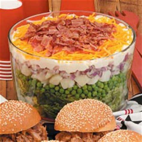 split layered salad recipe taste  home