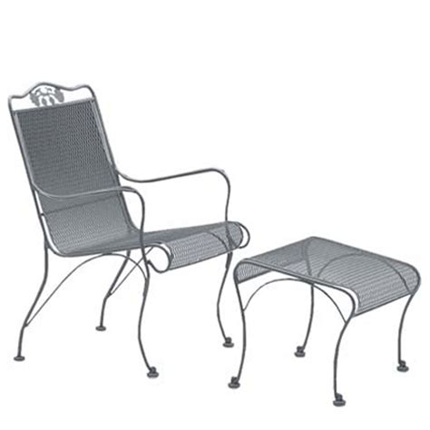 woodard 400006 briarwood high back lounge chair discount
