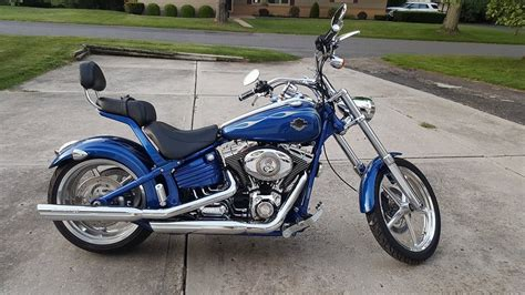 Harley Davidson Johnstown Pa by 2009 Harley Davidson 174 Fxcwc Softail 174 Rocker C Blue