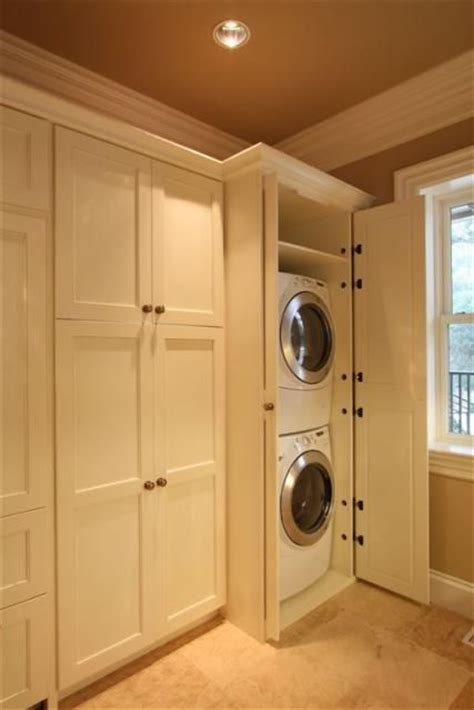 Tumble Dryer In Cupboard by 1000 Images About Stacking Washer Dryer On