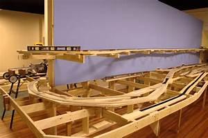 Woodwork Train Layout Benchwork PDF Plans