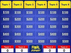 jeopardy game powerpoint template with music - jeopardy powerpoint template plays just like jeopardy tpt