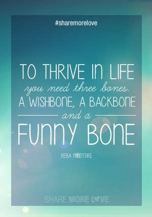 Wishbone Backbone Funny Bone Quote