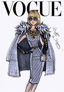 'VOGUE' Fashion Illustrations by Hayden Williams A Side