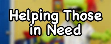 Helping Those in Need - DouglasTalks.com