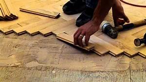 installing hardwood red oak herringbone floor nj With how to lay a parquet floor in a herringbone