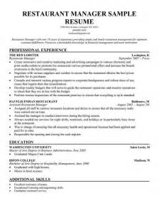 restaurant server skills resume exles restaurant manager resume template business articles restaurant restaurant