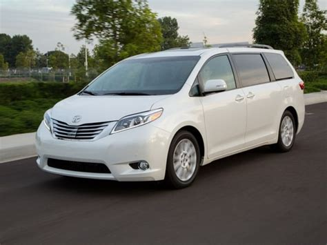 15 best family cars 2015 toyota sienna kelley blue book