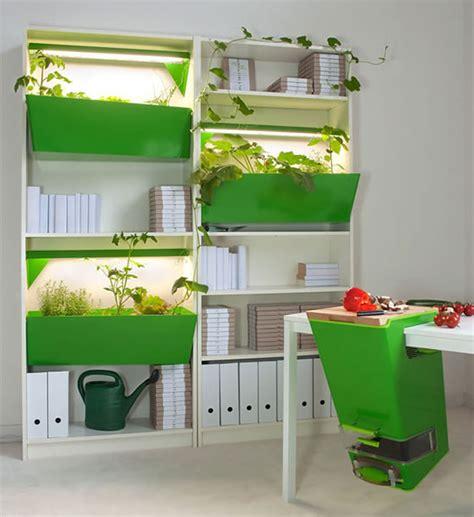 indoor vegetable garden parasite farm enables you to grow an indoor vegetable garden
