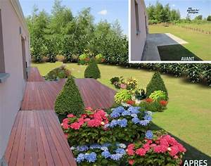 Terrasse En Anglais : am nagement jardin et terrasse avant apres avec my garden designer jardin pinterest ~ Preciouscoupons.com Idées de Décoration