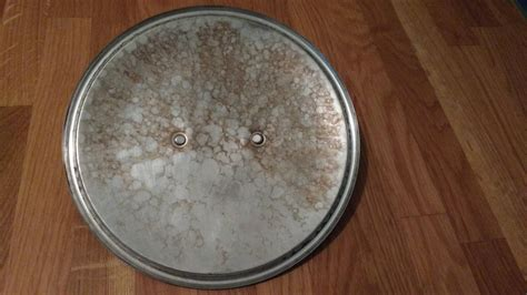 equipment cleaning tin discoloration  coppertin lid seasoned advice
