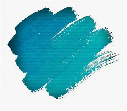 Paint Smudge Smear Scribble Doodle Cyan Squiggle