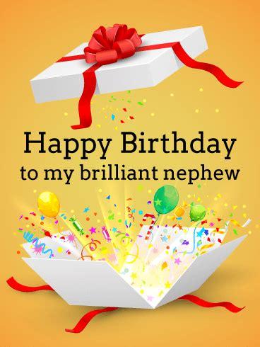 birthday greeting cards  nephew card design template