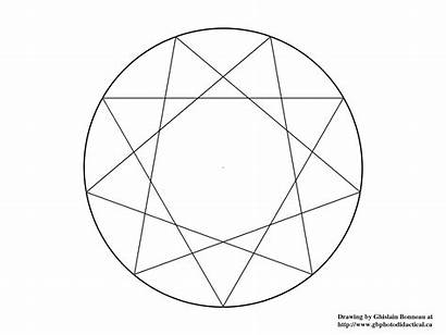 Pointed Star Nine Mandalas Safe Norton Geometry