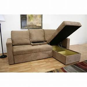 wholesale interiors baxton microfiber convertible sofa bed With tan sectional sleeper sofa
