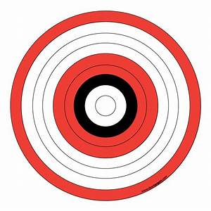 printable archery targets archery target stands With bullseye template printable