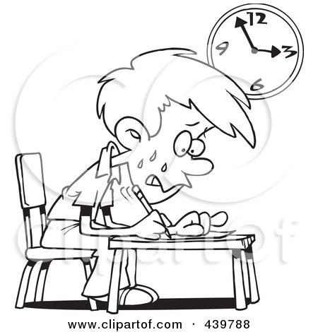 stress black student clipart clipground