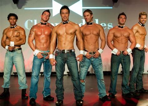 Chip N Dale Dancer by The Chippendales 2011 Most Wanted Tour Big Boys Oven