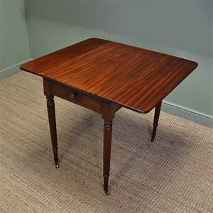 Fine, Regency, Gillows, Small, Drop, Leaf, Mahogany, Dining, Table