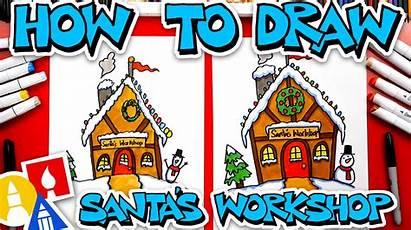 Draw Workshop Santa Santas Hub Drawing Artforkidshub