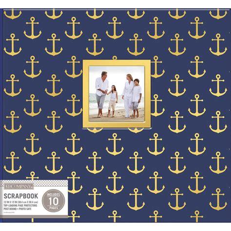 Nautical Scrapbook Album 12X12