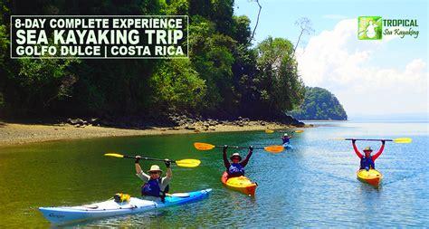 trip calendar season tropical sea kayaking trips costa