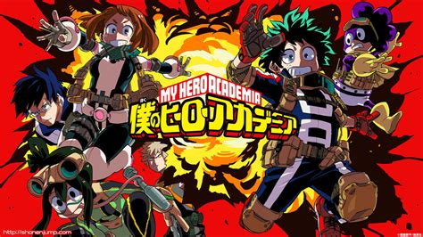 Boku No Hero Academia Wallpaper Hd Anime By Corphish2 On