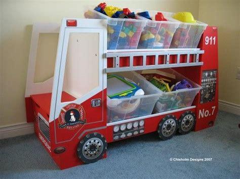 fire truck toy box great    fireman