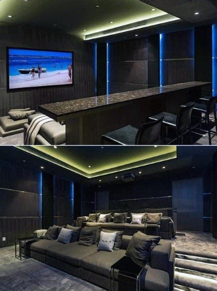 top   home theater lighting ideas illuminated ceilings  walls