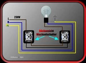 Gira Wechselschalter Anschließen : eine lampe verdrahten unterboden beleuchtung ~ Orissabook.com Haus und Dekorationen
